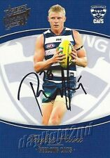 ✺Signed✺ 2014 GEELONG CATS AFL Card TAYLOR HUNT