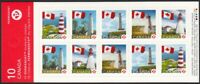 ERROR = Booklet with FLIPPED Image = BK364 = LIGHTHOUSE Canada 2007 MNH [ec115]