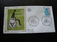 ANDORRE (francais) - enveloppe 1er jour 7/11/1981 (handicapes) (cy63) andorra(Y