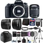 Canon EOS 77D 24.2MP Digital SLR Camera with 18-55mm Lens and 16GB Accessory Kit