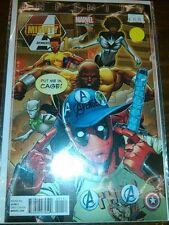 Deadpool Variant Mighty Avengers 1 Marvel Comics Infinity Darmata Land NM Lee 13