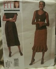 V1292 Vogue Today's Fit Women's Skirt Easy Sewing Patterns For All Sizes