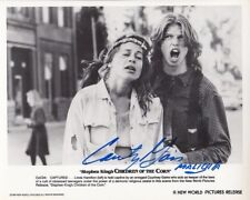 COURTNEY GAINS signed Autogramm 20x25cm CHILDREN OF THE CORN in Person autograph