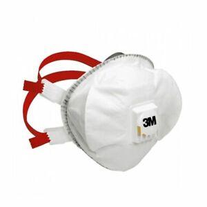 3M 8835+ Premium Valved Dust Fume Mask Respirator FFP3 NRD - EN149:2001 Box of 5