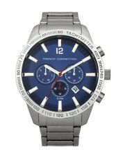 FRENCH CONNECTION WATCH 40% SALE! Gents 10m WR Stainless Steel Blue Face RRP$299