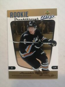 2005-06 UD ROOKIE BREAKTHROUGH ALEXANDER OVECHKIN
