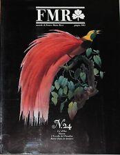 Rivista d'arte FMR (mensile di Franco Maria Ricci - n°24 1984  1/16