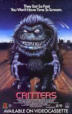 """CRITTERS Movie Poster [Licensed-NEW-USA] 27x40"""" Theater Size"""