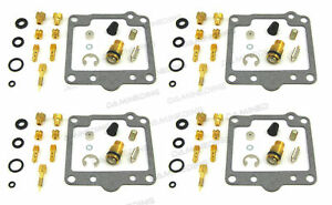 4 X CARBURETOR CARB REPAIR REBUILD KIT 1980-83  gs1100 gs1100e gs1100es