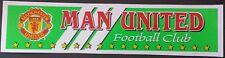 ManU Manchester United Aufkleber Sticker (7,5 x 31,5cm)