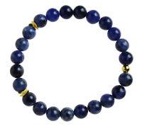 SODALITH Edelstein-Armband Stretch Perlenarmband D295