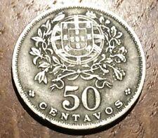 PIECE DE 50 CENTAVOS DU PORTUGAL 1944 (233)