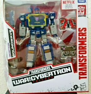 🔥 IN HAND SOUNDWAVE Transformers War Cybertron Netflix 2-day shipping MISB 🔥
