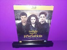 Twilight Chapitre 5 Revelation 2eme Partie Blu Ray Import Brand New B448