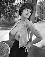 8x10 Print Sexy Model Pin Up Nudes 1960's Busty Julie Wills #98234