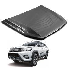 Bonnet Hood Scoop Cover Trim Black 1 Pc For Toyota Hilux Revo Fortuner 2015 - 17