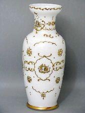 Murano große Tisch Vase 36 cm sehr seltene Dekor um 1974 Signiert & Datiert