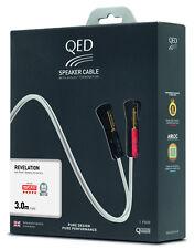 QED Signature Revelation Speaker Cable Quality Loudspeaker Lead - 3.0 Metre Pair
