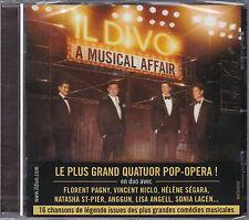 CD IL DIVO A MUSICAL AFFAIR 16T DUO PAGNY/ANGGUN/NICLO/ST PIER/STREISAND NEUF