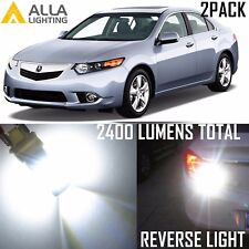 Alla Lighting Back-Up Reverse  Light 7440 Super White LED Bulb for Acura TSX ZDX
