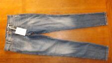 "MIH Jeans Damas Basset Ellsworth Skinny Jeans Pierna subida de alto talla 26"" (£ 180) NUEVO"
