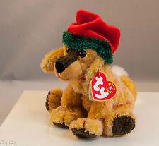 "Beanie Babies TY ""Jinglepup""  Dog, New, Mint, DOB 12/3/2000, TAG ERROR 2001"