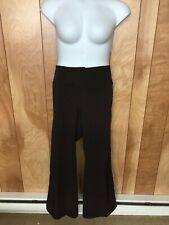 WOMEN'S METRO 7 BROWN DRESS PANTS-SIZE: 22W