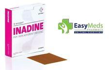 Inadine 9.5cm x 9.5cm x5 Non Adherent Wound Dressing Pov-Iodine, AntiMicrobial