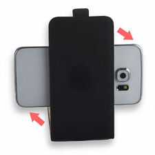 360 ° Universal Flip Style Mobile Phone Bag with Pad Cover Sleeve Pouch Black S-2
