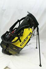 New 2020 Cobra SpeedZone Staff Stand Carry Golf Bag Yellow / Black Speed Zone