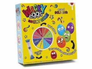 Wacky Lockdown Home Easter Egg Hunt Game Kit Golden Egg Spinner Timer & Toys 004