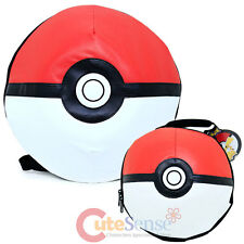 Pokemon Pokeball Dome Shape 3D Large Backpack Lunch Bag Costume Bag 2pc Set