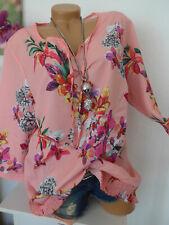 Paola Shirt Tunika Damen Gr. 48 bis 50 bunt gemustert (714)