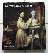 """TRES RARE """"LA NOUVELLE ATHENES"""" (HAUT LIEU ROMANTISME) - ACT° ART PARIS 2001"""