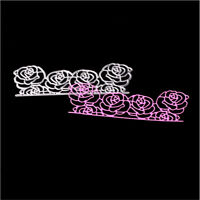 Stanzschablone Rose Blume Weihnachten Hochzeit Geburtstag Oster Karte Album DIY