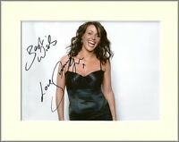 SURANNE JONES CORONATION STREET DR FOSTER PP 8x10 MOUNTED SIGNED AUTOGRAPH PHOTO