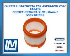 FILTRO A CARTUCCIA PER ASPIRAPOLVERE TABATA 5592101900 DE LONGHI ORIGINALE