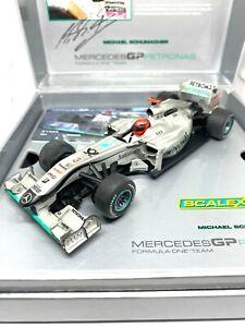 1:32 scale Scalextric Mercedes F1 Car M Schumacher 2010 Scalextric C3148A Model