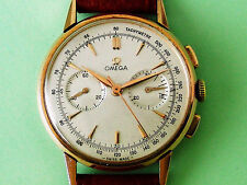 RARE OMEGA 18K ROSE SOLID GOLD CAL 320 COLUMN WHEEL CHRONOGRAPH. SPLENDID !