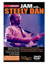 Lick Library JAM WITH STEELY DAN Guitar Video Lessons 2 DVD + CD With Tom Quayle