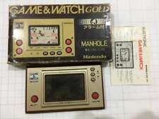 NINTENDO PORTABLE GAME & WATCH GOLD EDITION MANHOLE (USED, RARE & VINTAGE 1981)