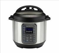 Instant Pot Duo Gourmet: 9-in-1 Multi-Use Pressure Cooker, 6 Qt