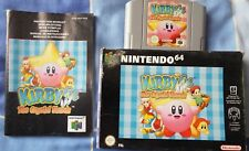 Kirby 64: The Crystal Shards n64 boxed