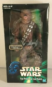 Star wars chewbacca figure 1999 the power of the force chewbacca figure boxed