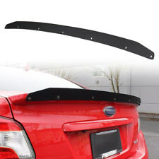 One Day Ship- 2019 For Subaru WRX 4th Trunk Spoiler Gurney Flap Wickerbill Iron