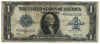 US Silver Certificate 1 Dollar 1923 large size prefix YD condition VG