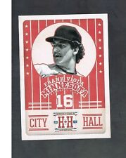 FRANK VIOLA #CH1 TWINS CITY HALL 2013 panini Hometown Heroes