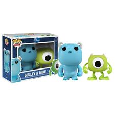 """Funko Disney MIKE & SULLEY 2.5"""" POP Vinyl Figure  BOX SET from Monsters Inc."""