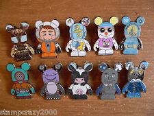 PP Lot Vinylmation PARK 8 Mystery Full Set of 10 Disney Pin Pre-Production Pins
