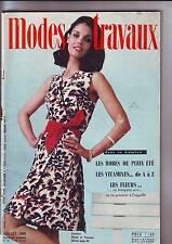 modes et travaux numero 811 juillet 1968 -